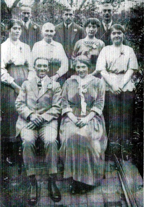 Brazill/Pratt wedding 1923