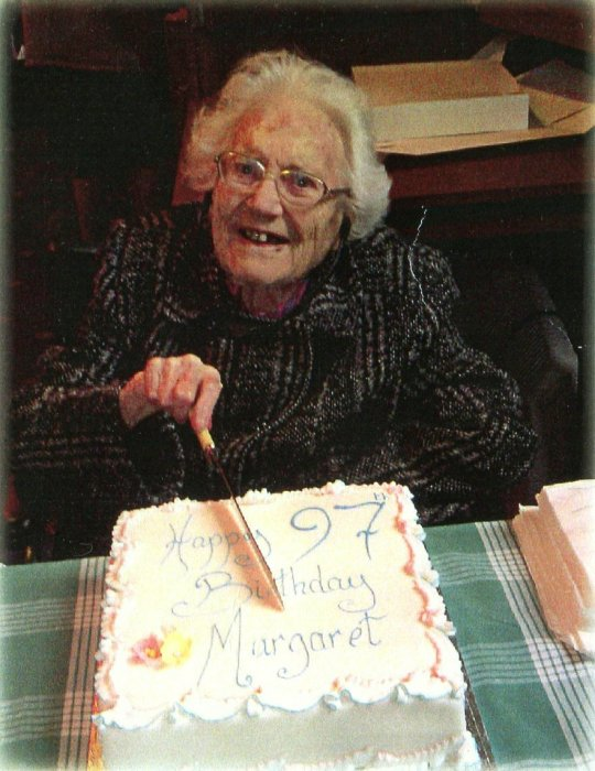 Margaret Rosenthal, 97th Birthday