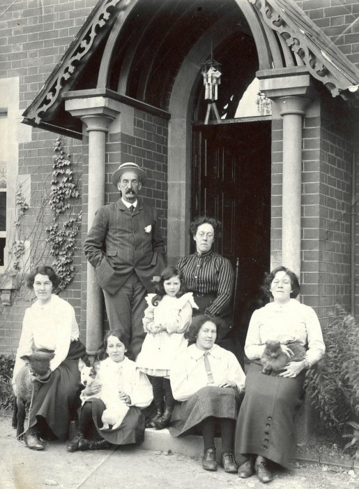 The Walker family at Wheatley House