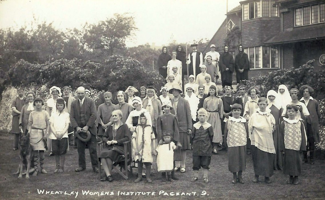 Participants in the 1929 pageant