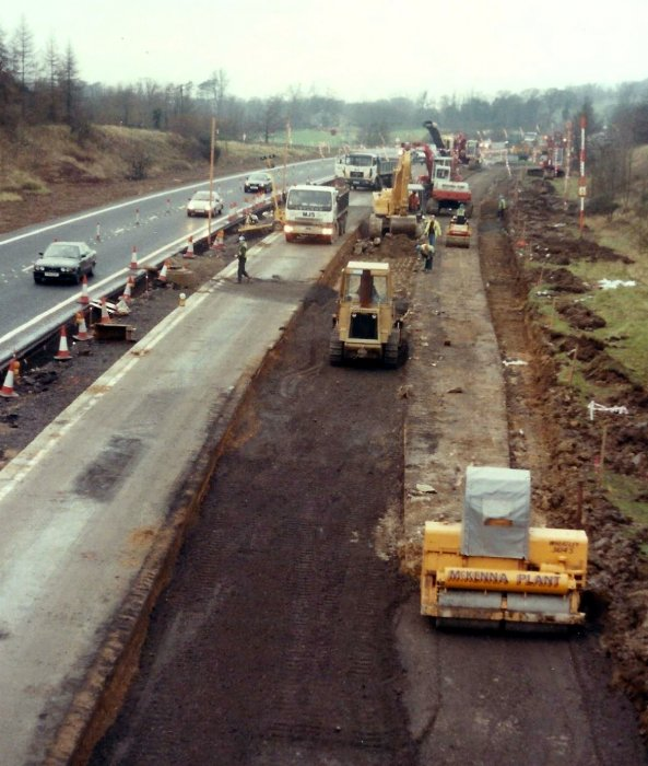 Repairs to A40, 1992