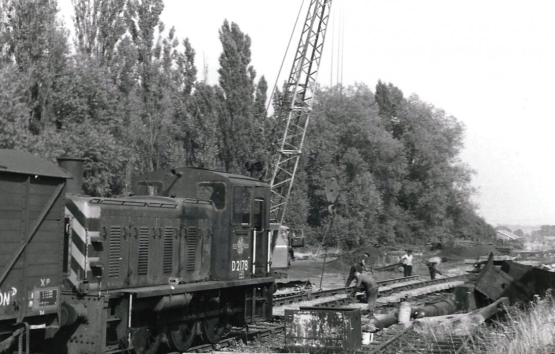 The removal of the railway line in 1969