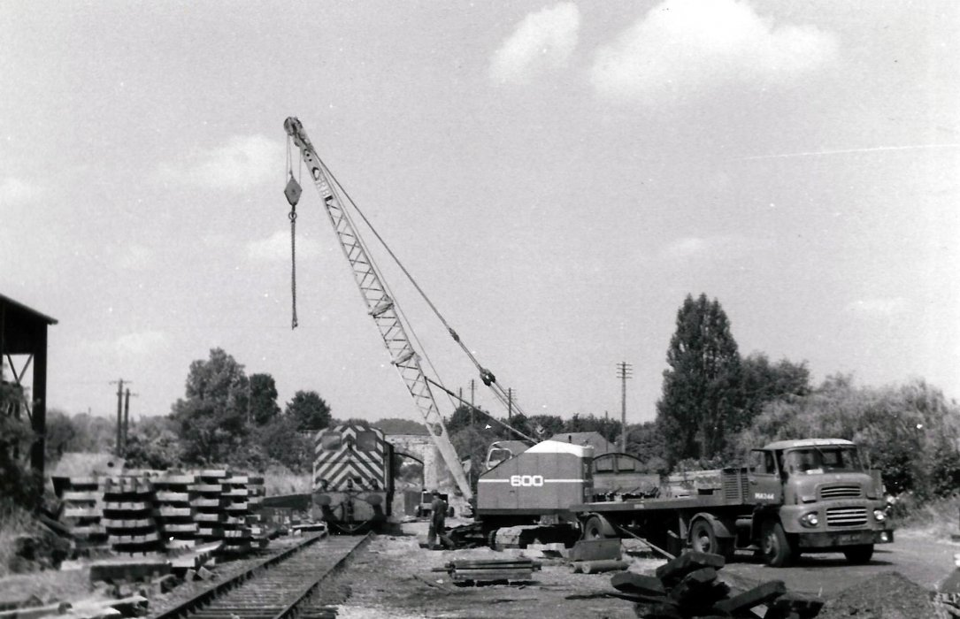 The track is removed in July/August 1969
