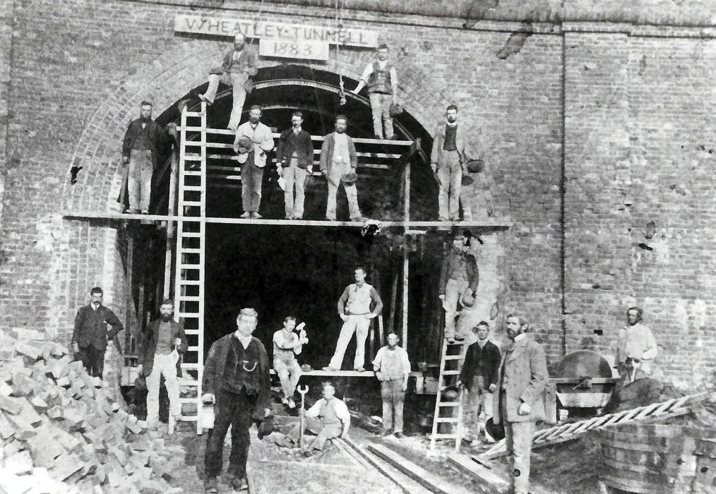 Repairing the railway tunnel under shotover