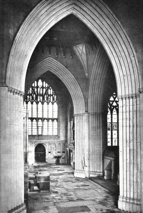 Merton College Chapel in which Wheatley stone was used