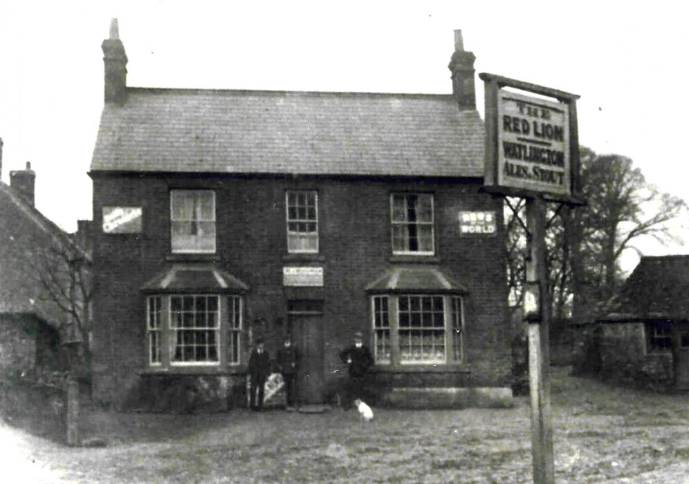 Photograph of the original in the New Club