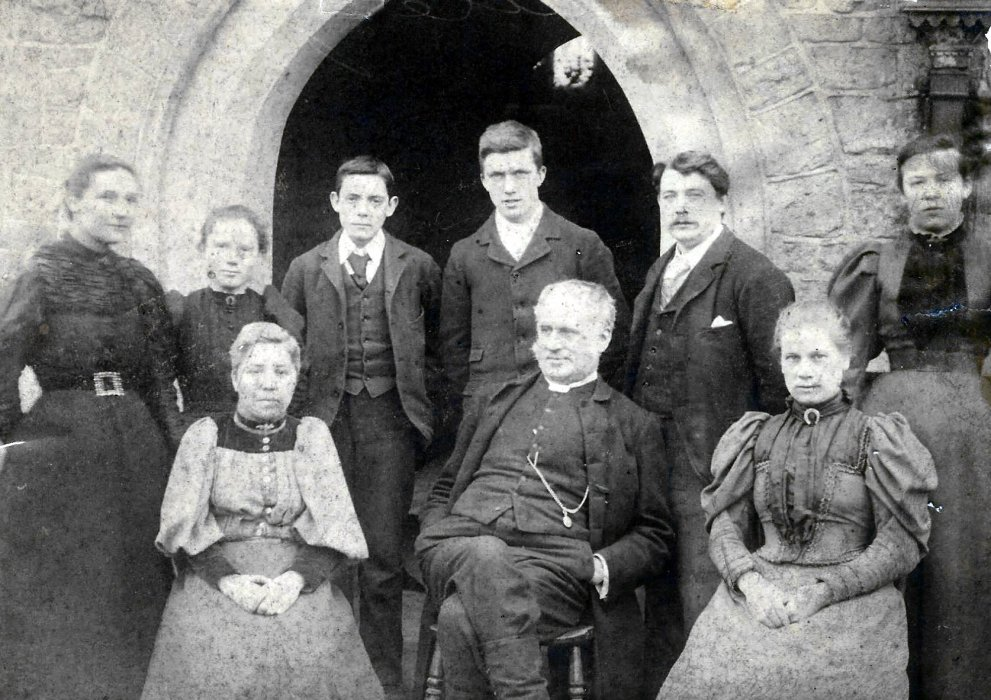Staff of Wheatley Primary School 1897