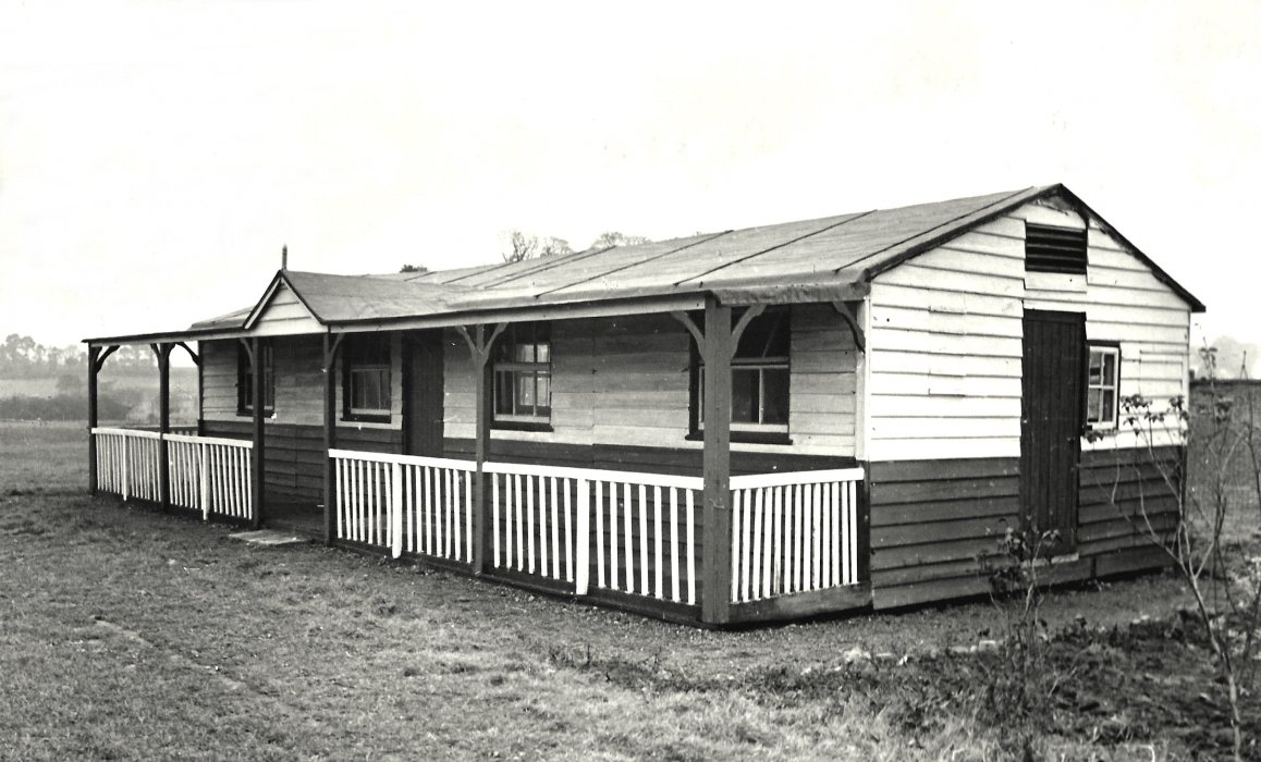 Wheatley Secondary School pavilion in 1951-1952