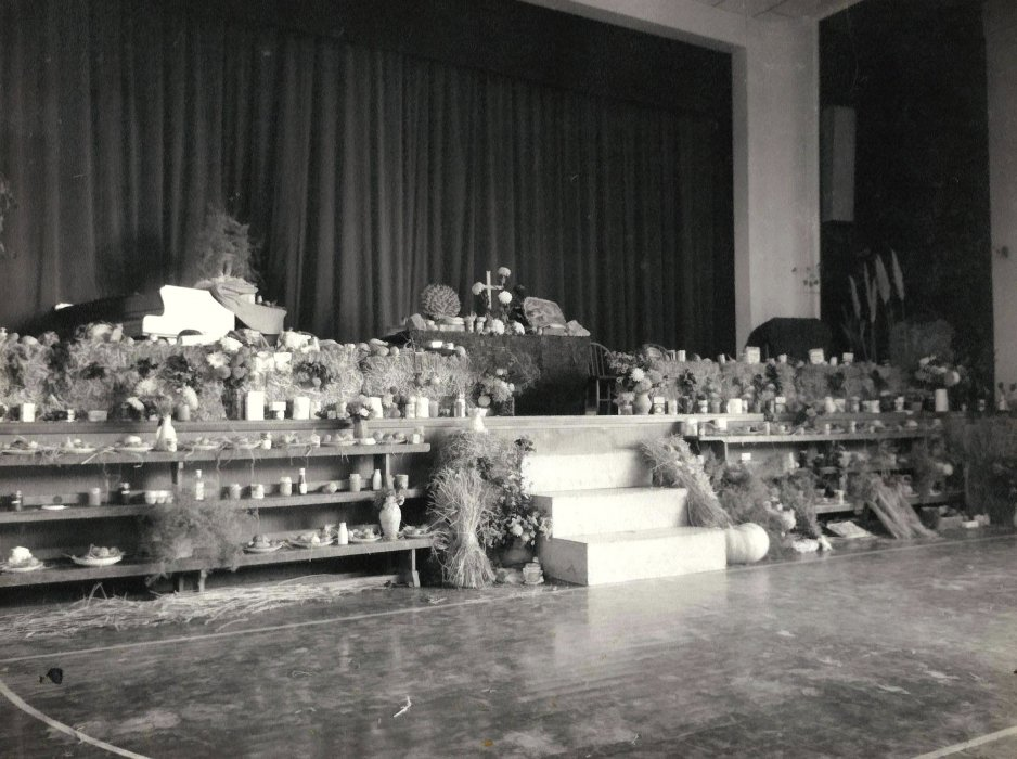 Harvest Festival in the school