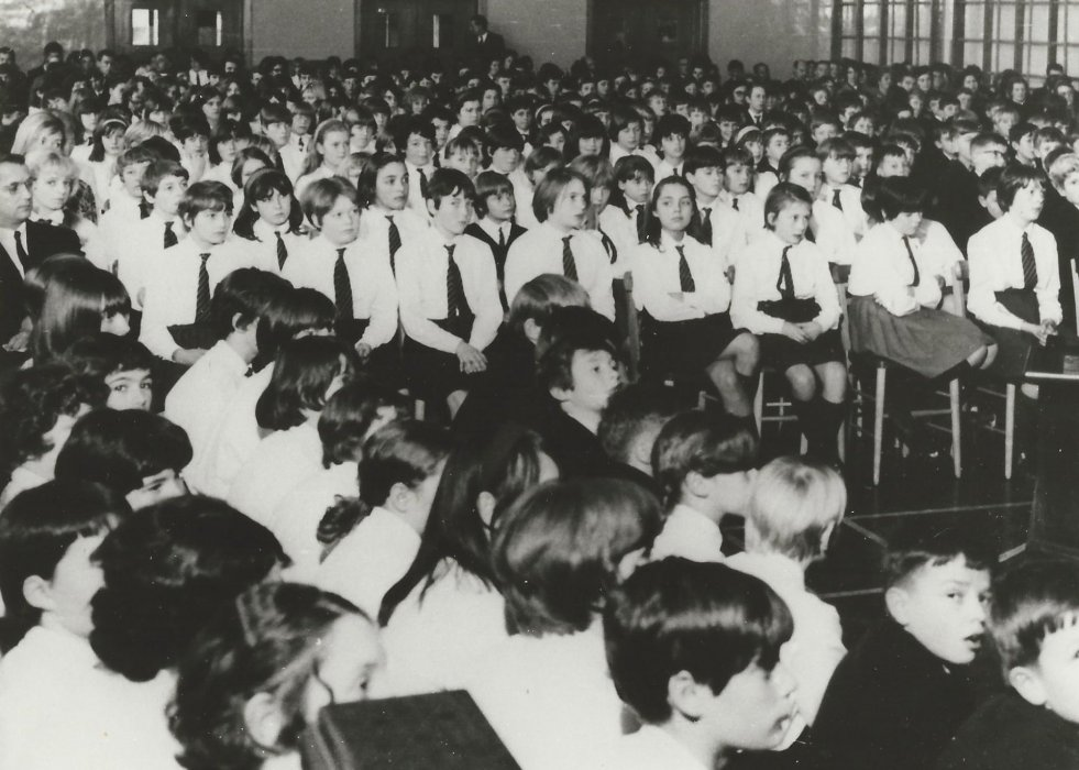Prize Giving 1967at the Wheatley Secondary School
