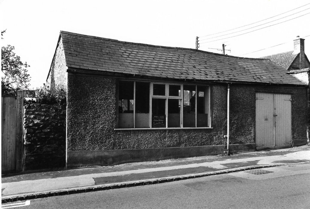 Harris workshop Church Road as shown in the 1988 booklet