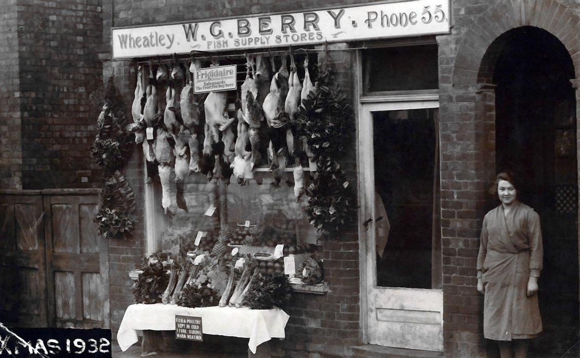 Berry shop at 94 Church Road