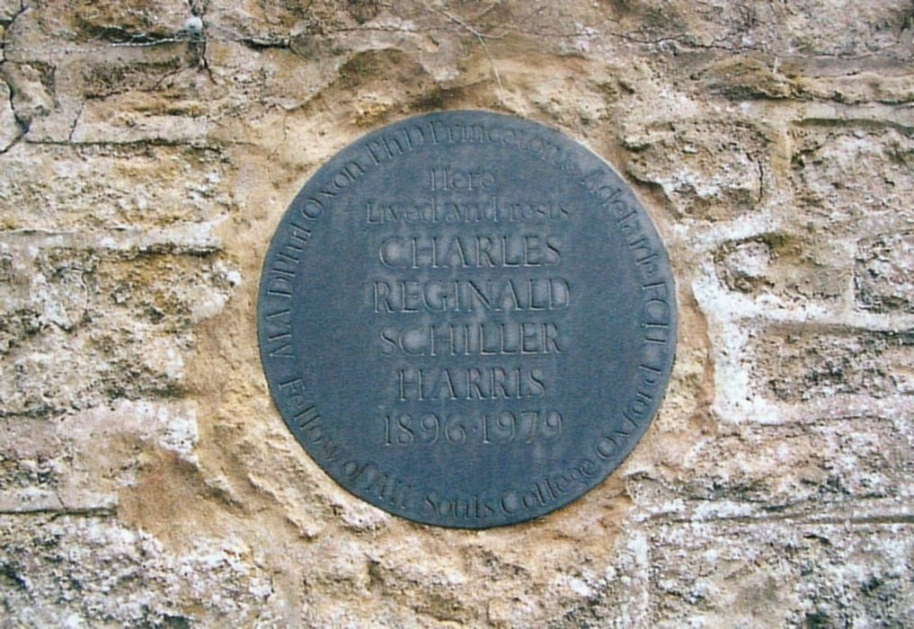 Memorial to Charles Reginald Schiller Harris