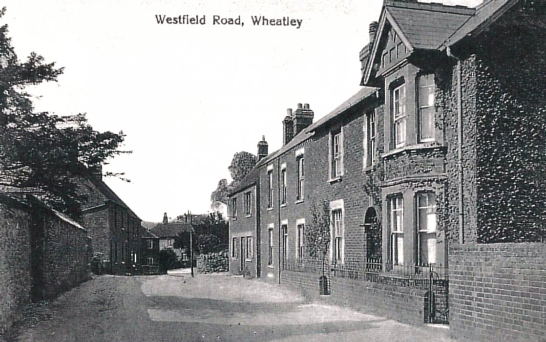 Postcard of Westfield Road