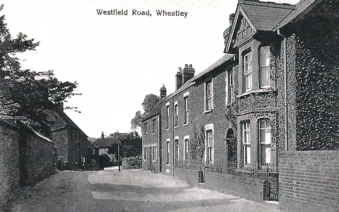 Westfield Road from the east