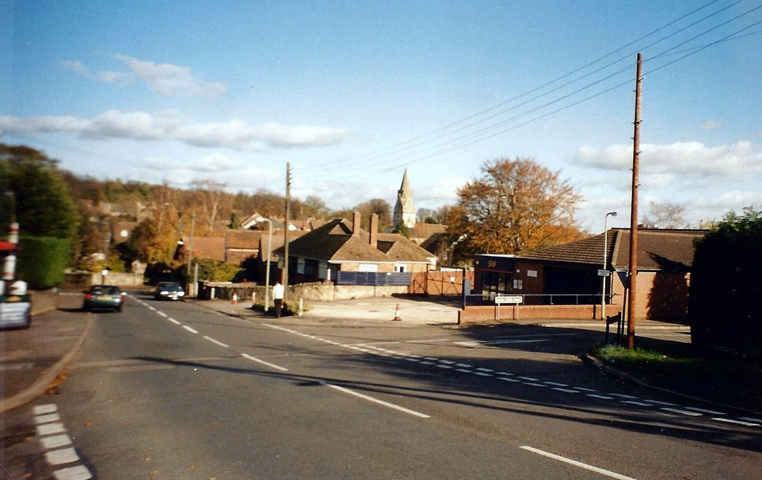2004. Bryants Garage during its move to Church Road with the petrol pumps having already been removed.