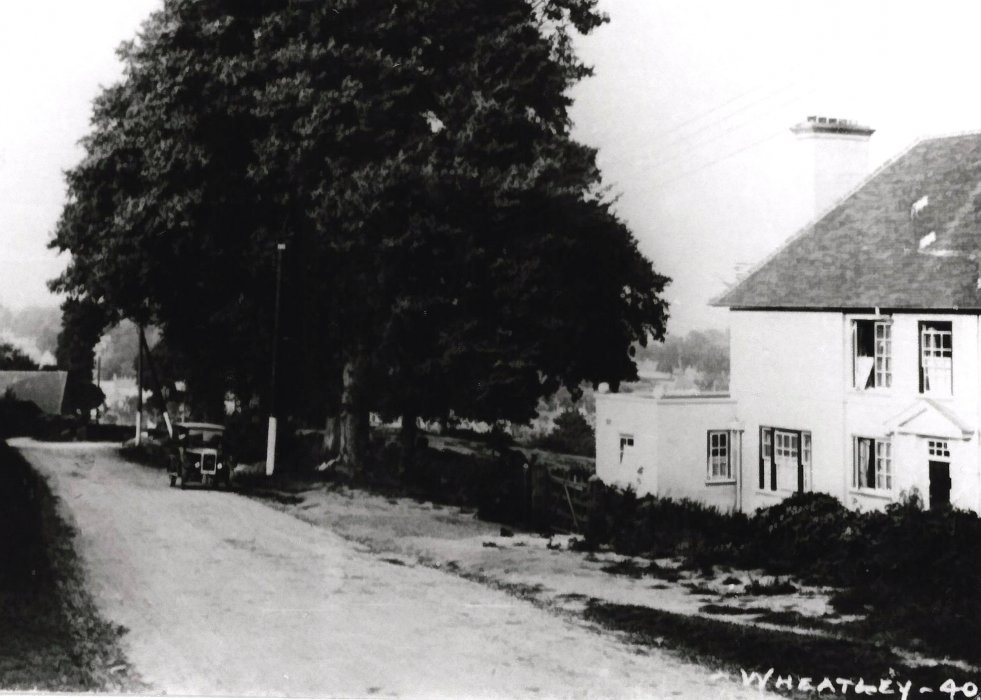 Ladder Hill, c. 1925, showing Elpis, now Hill House.