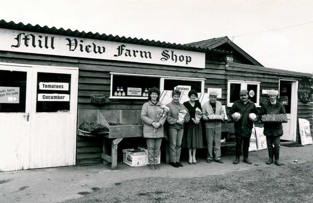 1988 Mill View Garden centre with staff
