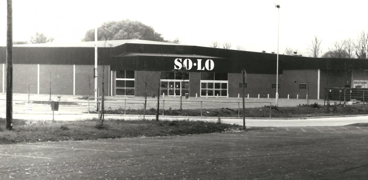 Solo Supermarket in 1979