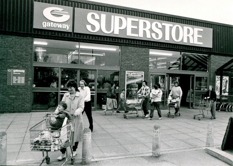 1988 as Gateway Supermarket as shown in the Centenary booklet