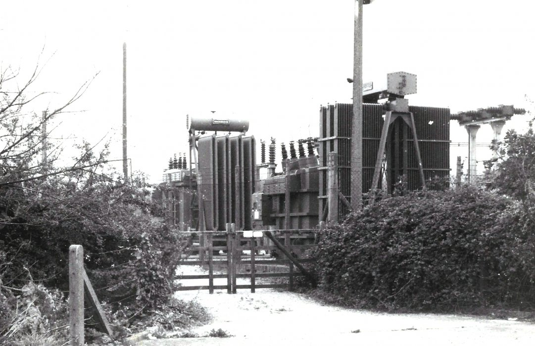 Electricity sub-station in 1979