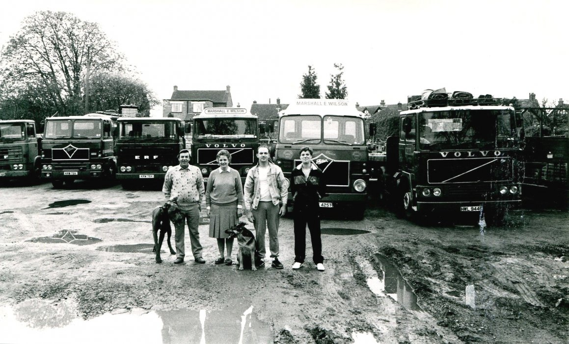 In 1988, according to the Centenary booklet, Marshall E Wilson transport business was on the site of the Fire Station