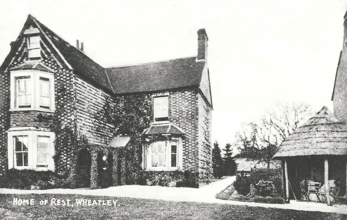 The Home of Rest for Convalescent Churchworkers, 15 Park Hill in 1906