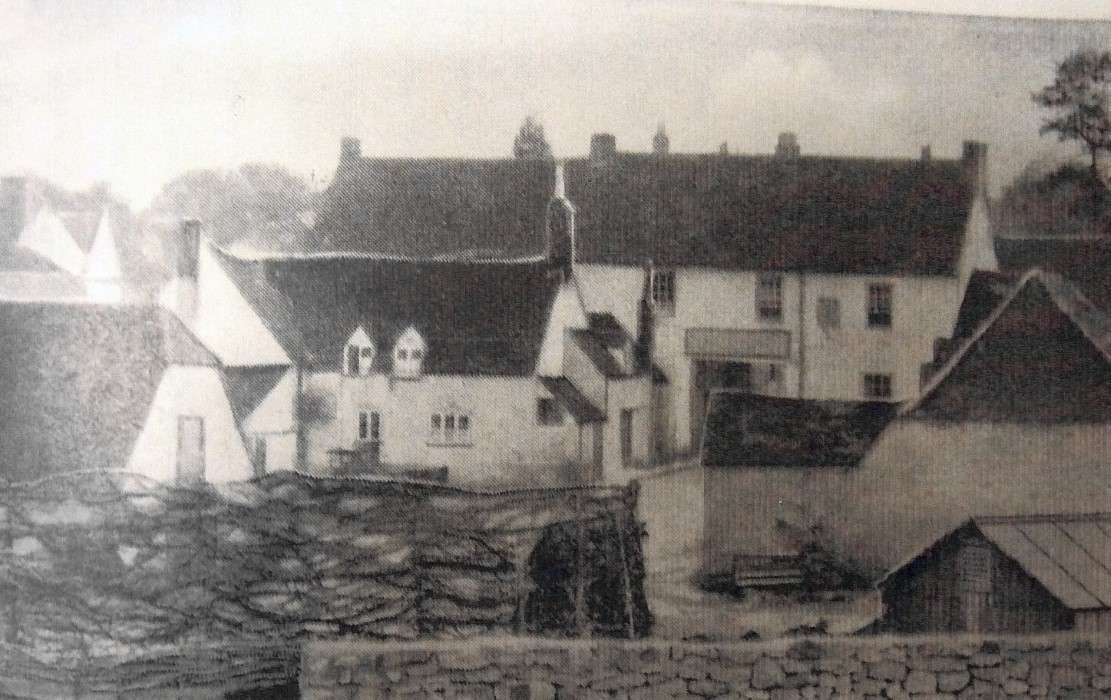 Date not known. Rear view of The Crown Inn