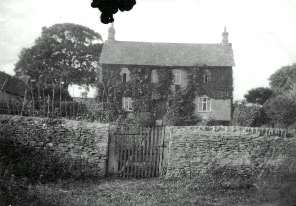 Date not know. Unknown farmhouse