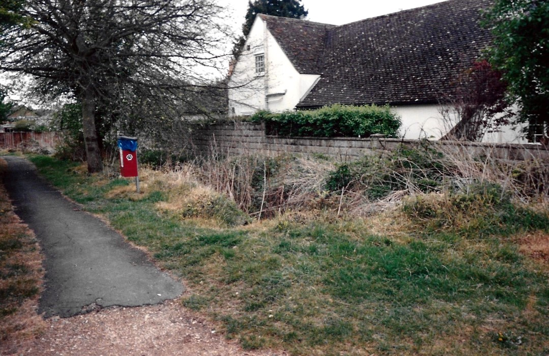 Footpath from Crown Road