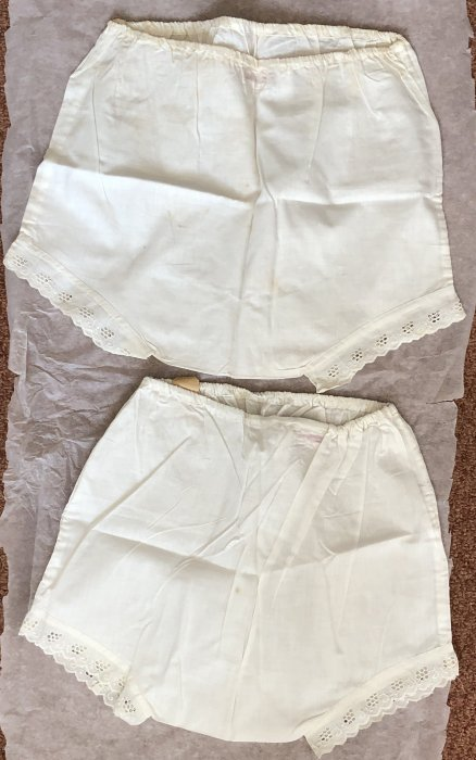 2 pairs of Horrock's cotton knickers
