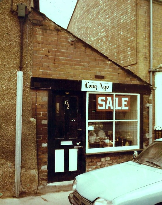 The small shop attached to 62 High Street.