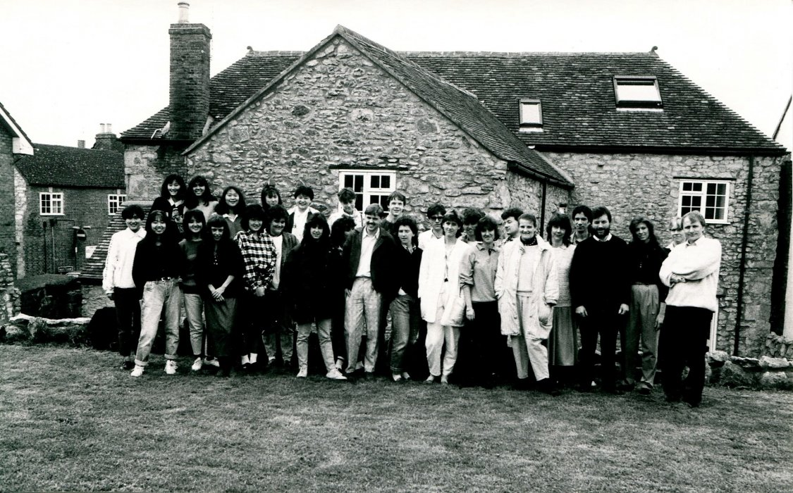 1988. School of English as shown in the Centenary booklet