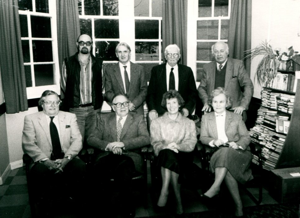 1988 Centenary Committee as shown in the Centenary booklet