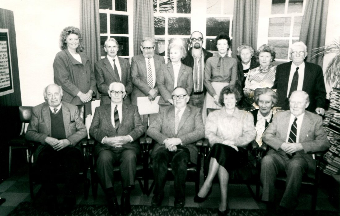 1988 Management Committee as shown in the Centenary booklet
