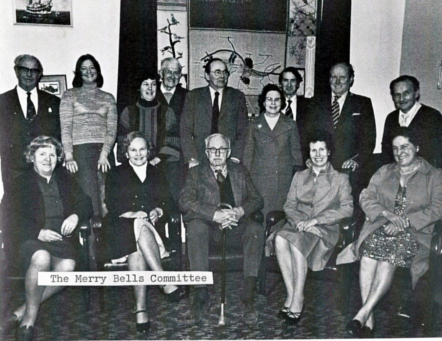 1977 Management Committee as shown in the Jubilee booklet