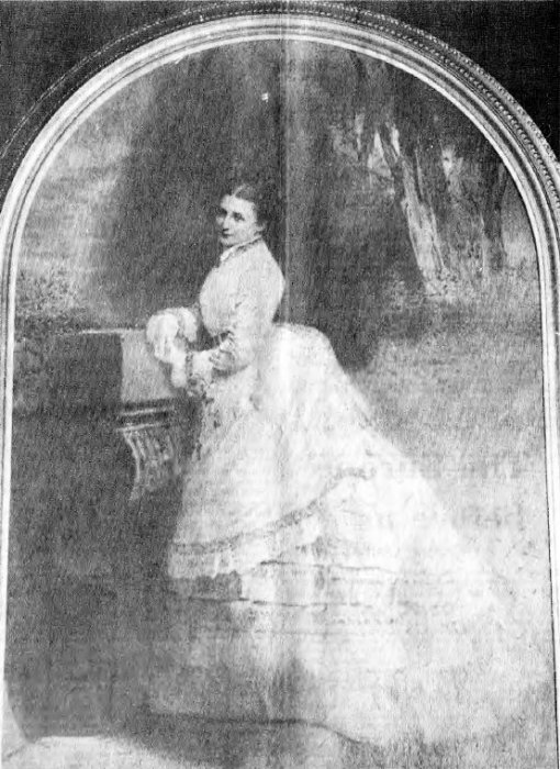 Portrait of Mrs Dorothy Miller who was the driving force for the building of the Merry Bells in 1888. This hangs in Shotover House.