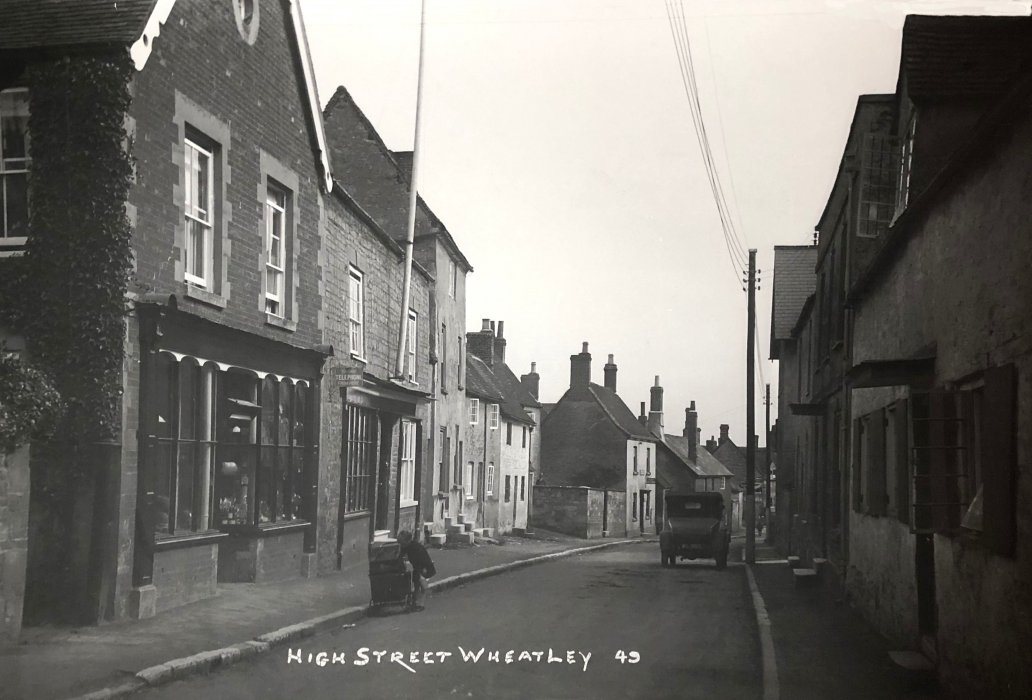 95-107 High Street, probably 1927, photographed from the large display image