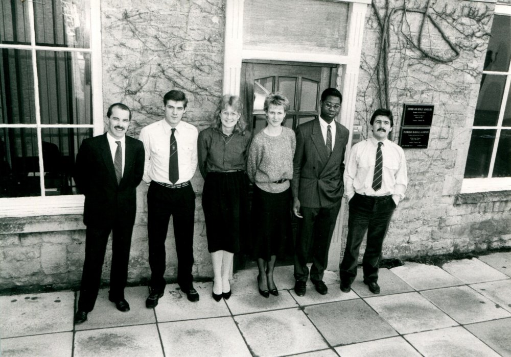 1988. Oxford and Henley Associates as shown in the Centenary booklet.