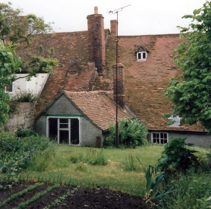 Rear of the house 1992