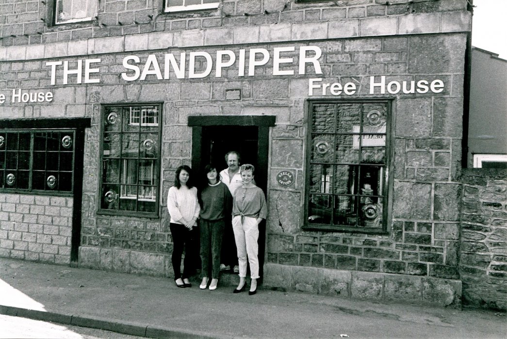 1988 Sandpiper with staff as shown in the Centenary booklet