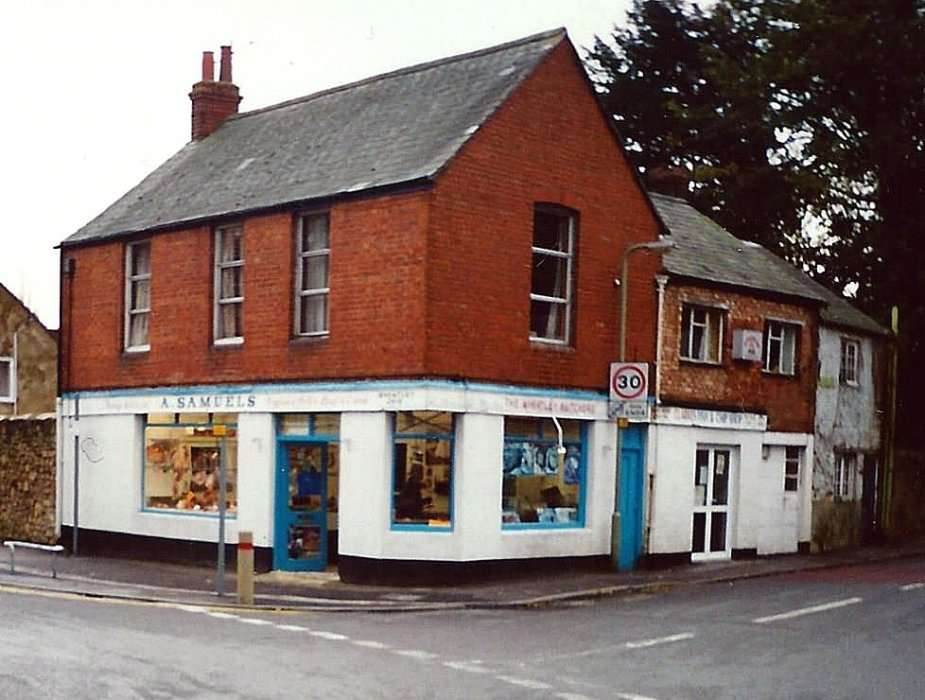 c. 2000 when Samuels butcher and Rose's fish and chip shop