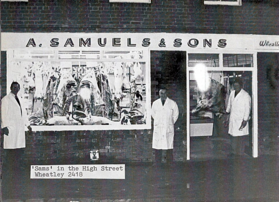 1977. Samuels as shown in the Jubilee booklet
