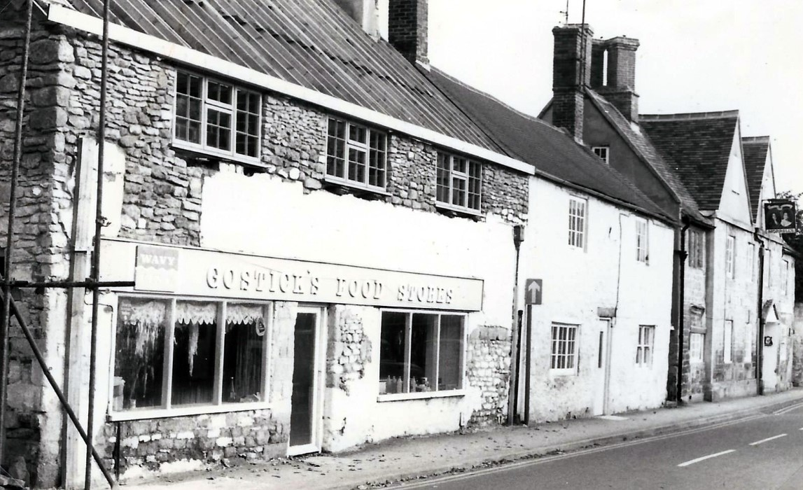 1975 when Gostick's food shop