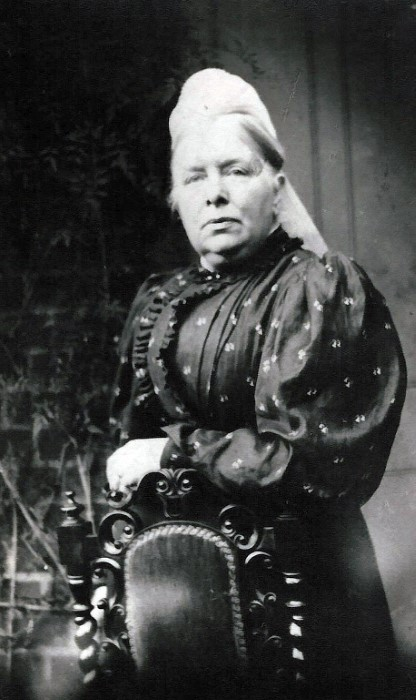 Mrs Russell, c. 1890