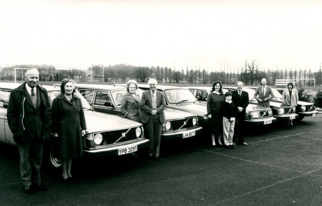 1988. The taxi fleet as shown in the Centenary booklet