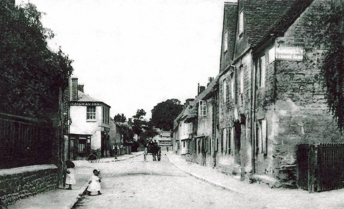 High Street in 1908