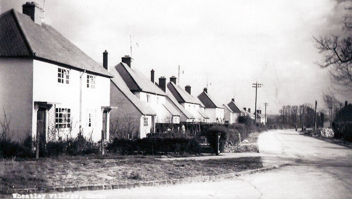 Roman Road looking east from corner of Leyshon Road in the 1950s
