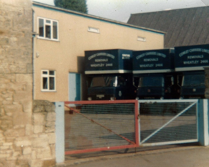 1989. Cowley Carriers, removal and storage business