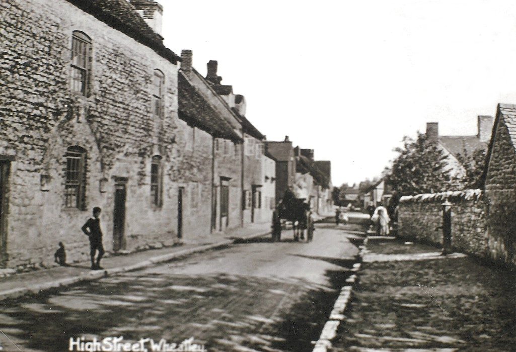 c. 1920, Old Parsonage and The George